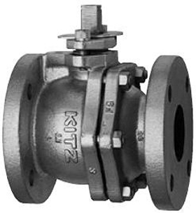 CAST IRON BALL VALVE 10 FCTB