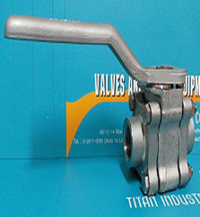 3 piece stainless steel ball VALVES PN 230/3300 psi