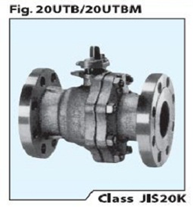 STAINLESS STEEL BALL VALVE 20 UTB/M