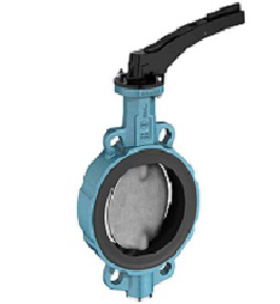 BUTTERFLY VALVE (SEAT EPDM/NBR) TYPE HAND LEVER