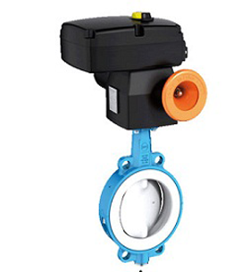 EBRO ARMATUREN PTFE-LINED BUTTERFLY VALVE T211-A