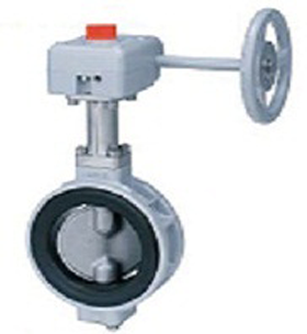 BUTTERFLY VALVE 10XJMEA (GEAR BOX)