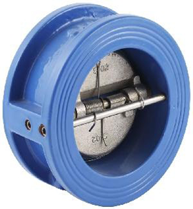 DUO-PLATE CHECK VALVE