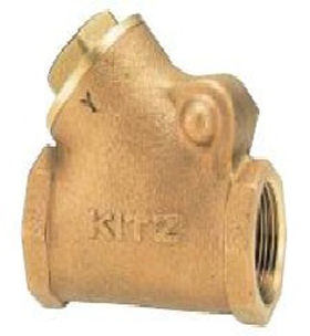 BRASS Y-SWING CHECK VALVE 150YR