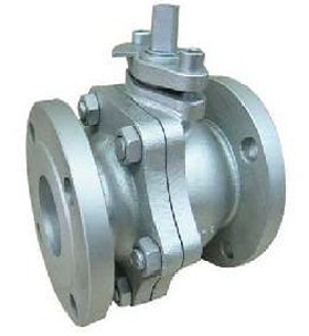 CAST IRON BALL VALVE FLANGED
